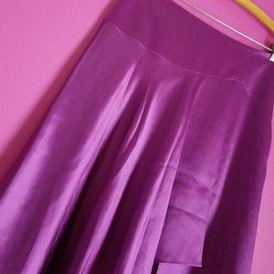 Bloomingdale's Satin Skirt